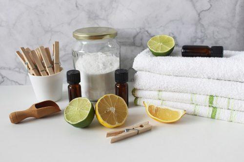 Doğal Temizlik Malzemesi Yapımı