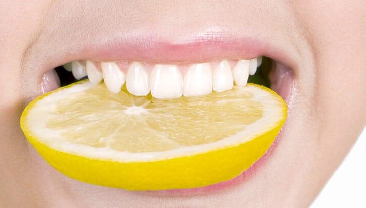 Limon İle Diş Beyazlatın, Kırılan Tırnaklarınızı Onarın